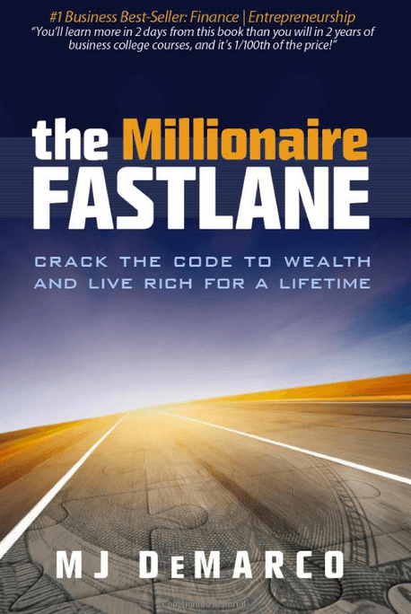 cover image of the millionaire fastlane by M.J. DeMarco