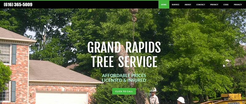 Tree Service Lead Gen Site