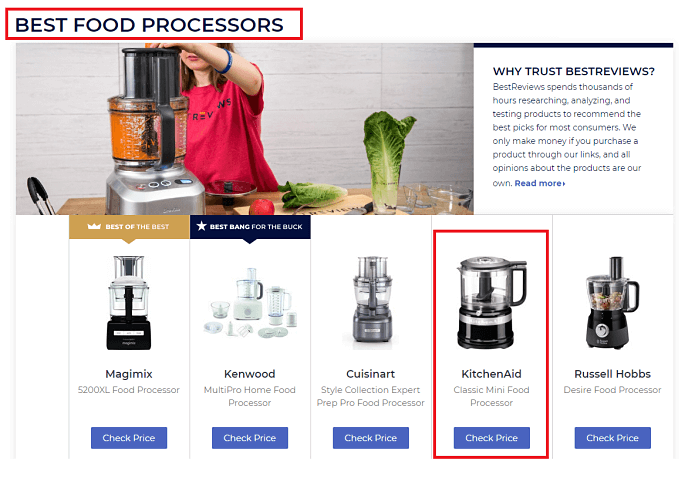 Food Processor Reviews