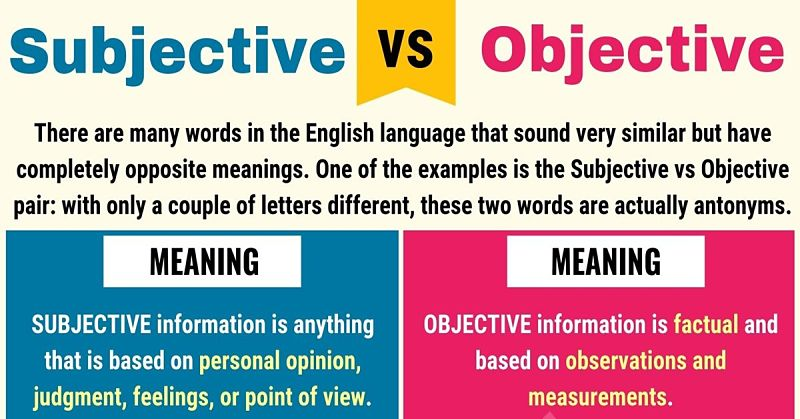 SEO is Objective