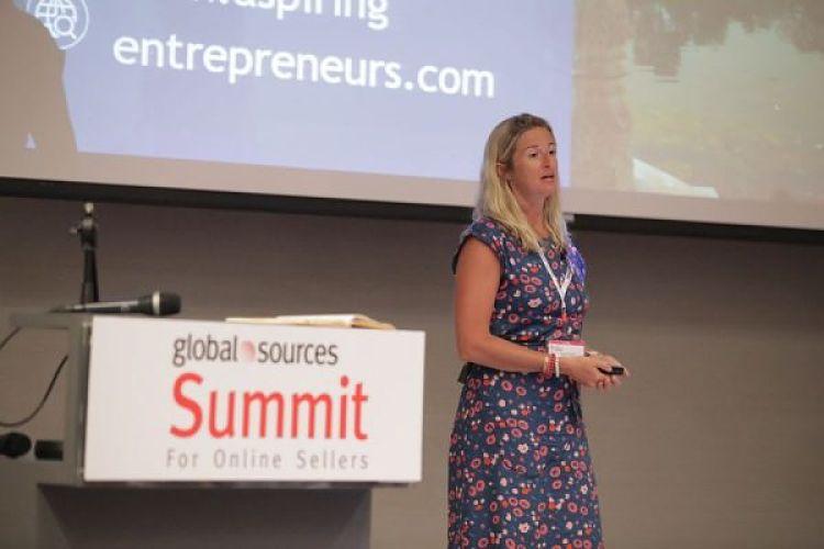 Sophie Howard speaking