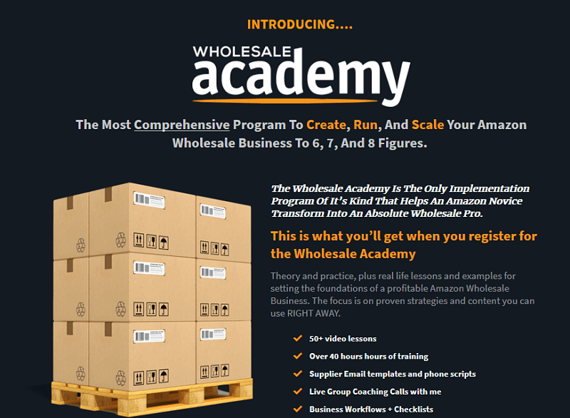 Wholesale Academy Overview